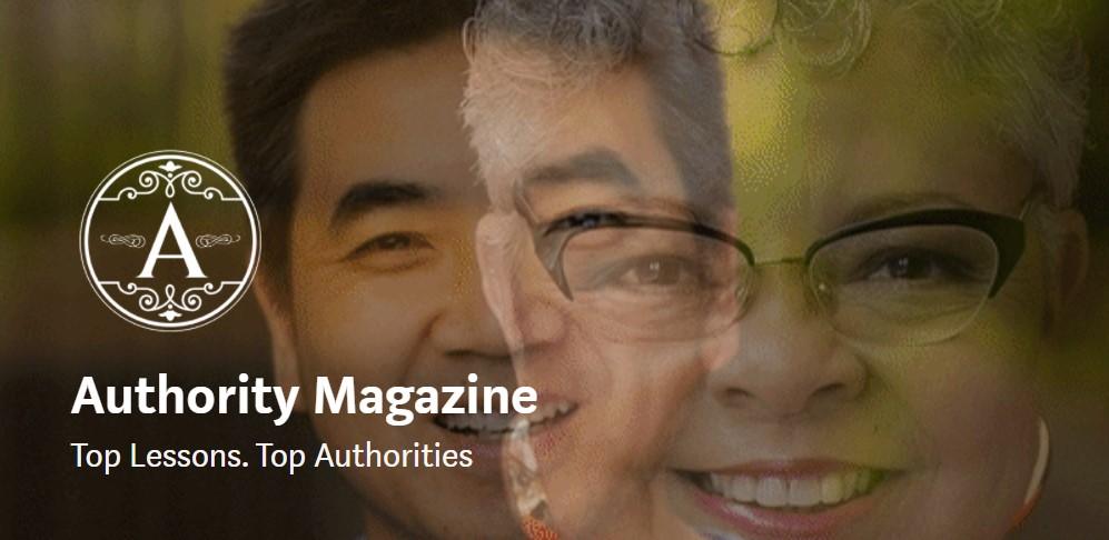 Authority Magazine Cover